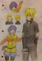 Uzumaki siblings by deadvampire32