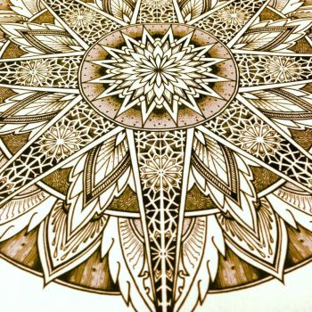 Solstice Mandala Project Day006 by OrgeSTC