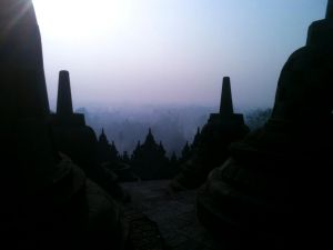 Borobudur Dreamdescent by GrafixGFX