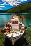 Colourful fishing boat by Sun-Bliss
