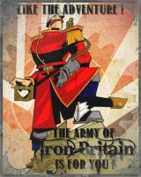 Iron Britain affiche by ECOSSAISKILT