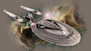 Enterprise Series - NCC-1701-E by thomasthecat