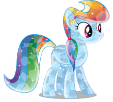Rainbow Dash Crystal (Version 2) by InfiniteWarlock