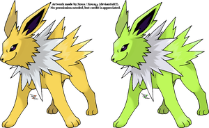 Jolteon v.2 by Xous54