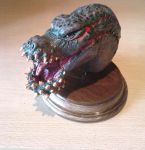 Deviljho Sculpey 8 by Yizard