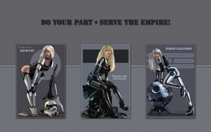 Serve the Empire! (Part II) by Manshonyagger