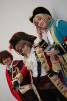 Matador, Pirate and Fancy by TeamPiC