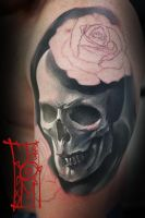 Skulll'n Roses unfinished by Tomyslav