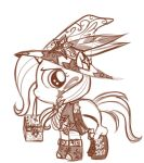 filly steampunk trixie by bunnimation