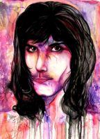 Freddie Mercury by Cradlesin