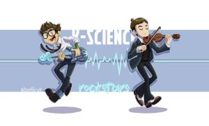 k-science rockstars by alienfirst