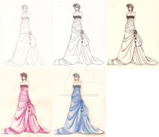 Fashion Illustration 2 by Pencil-Only