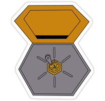 Metabee Medal Sticker by spot1the2dog3