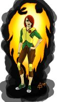 Jean Grey Redesign by toekneearrows