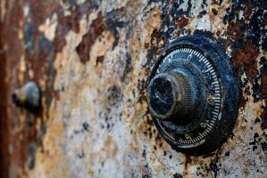 Rusted Safe by Jeremy-Cantelli