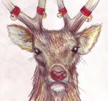 Rudolph the Red-Nosed Reindeer by Inheritance