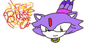 Blaze the Cat by Piemaster234