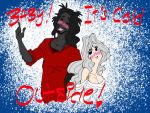 A Christmas love duo(COLLAB WITH BIG SIS VOODOO) by KBBARCO-91