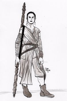 Rey by DaveStrong