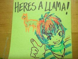 Psp Thanks for the LLAMA by Zinnestheyl