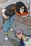Whatcha gonna do about it Gohan!? [Colored] by kise77