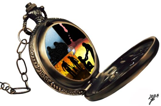 pocketwatch of life by roteHexe