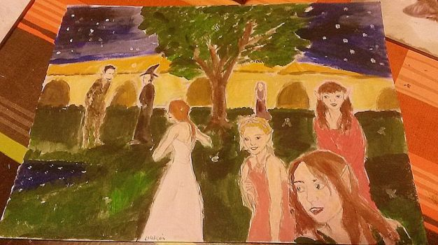 Halloween Project 2 (painted) by circesavatar1990