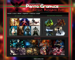 Penta Graphics Christmas Resource Pack by Brockstuff
