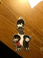 Persona 3 Portable Keychain by 8bitsofawesome