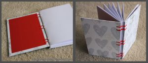 Notebook Love - coptic bound by FynnMitsuki