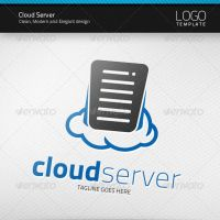 Cloud Server Logo by artnook