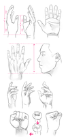 Tutorial hands by JennaTenshi