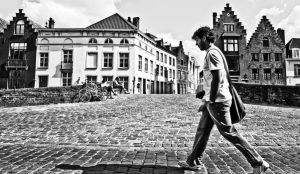 The man who walks alone by Aloba
