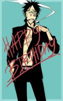 Bleach - HBD Shuuhei 2010 by pandabaka