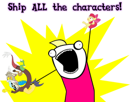 Ship ALL the characters! by iloveportalz0r