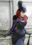 Victorian Gothic Lady 5 by MADmoiselleMeli