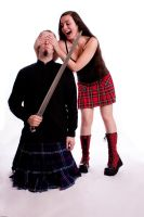 Mess with the kilt guy III by Santian69