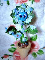 Lady Hydrangea by MeadowDelights