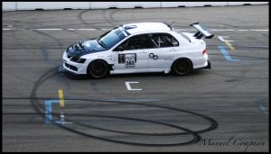 Lancer  Evo Time-Attack by compaan-art
