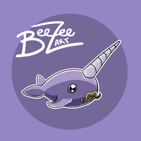 Sir Narwhal Illustration by BeeZee-Art