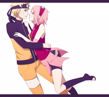 [NaruSaku] A little closer... by zaaee