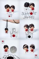 Support Japan Accessory by thatpaperfox