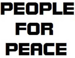 People For Peace Armband Font by Tesla51