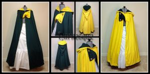 Jester Twist - Reversible Cloak by Durnesque
