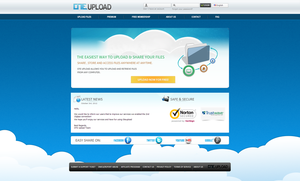 OTE UPLOAD SITE DESIGN by FYPO