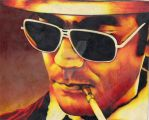 Hunter S. Thompson by LaurenTirroArt