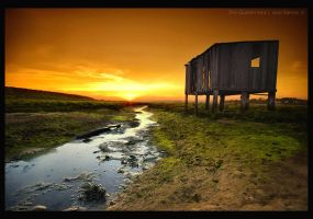 The Golden Hut by Inebriantia