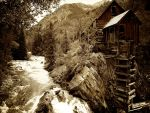 Colorado 13 Crystal Mill 2 by AquarianPhotography