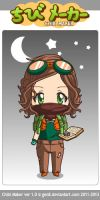 Adventure chibi by Mingbatrox108
