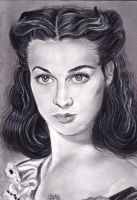 Vivien Leigh by IreneGnr22
